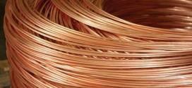 La disminución del cobre al mínimo, de una semana de desaceleración del crecimiento, amplia oferta